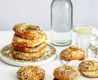 Domaće bagel pecivo / Homemade Bagels Recipe