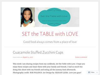 SET the TABLE with LOVE