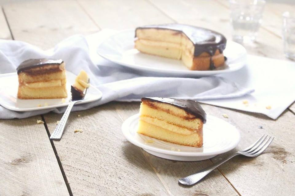 Recept: Koolhydraatarme en suikervrije Boston Cream Pie | Steviala Blog