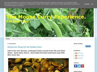 The Moose Curry Experience