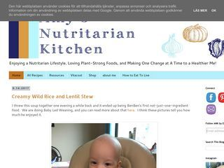 Amy's Nutritarian Kitchen