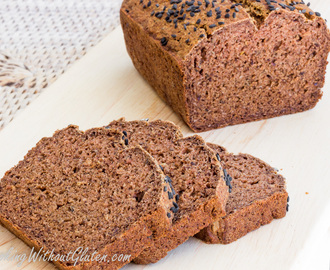 Vegan Buckwheat Bread – Gluten, Yeast and Gums Free