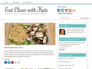 Eat Clean with Kate