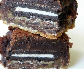 Double Cookie Fudgy Brownies