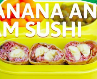 Banana Jam Rice Sushi Recipe