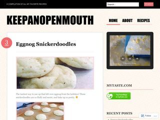 keepanopenmouth | A compilation of all my favorite recipes