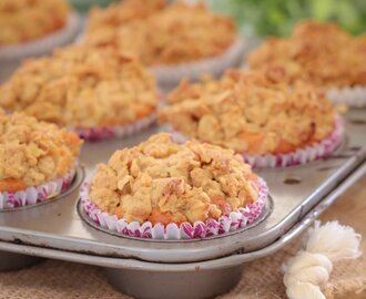 Apple Crumble Muffins | Lunch Box Recipe