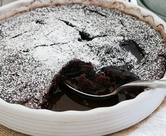 Thermomix Chocolate Self-Saucing Pudding