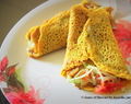 Overloaded Crepe Paratha Wrap