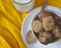 Oats and Nuts Energy balls with Milk Solid Residue