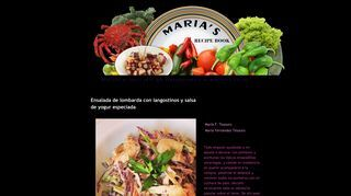 María's Recipe Book