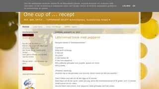 One cup of ... recept