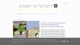 Essen is fertich!