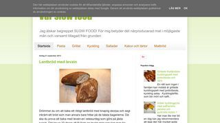 Vår slow food