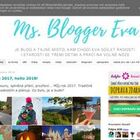 Ms. Blogger Eva
