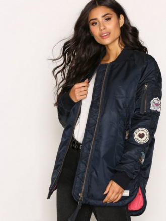 Odd Molly Love Bomber Jacket Bomberjackor Chalk