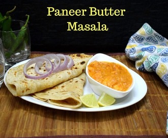 Paneer Butter Masala Recipe with Roasted Spices