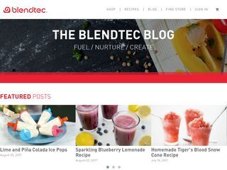Official Blendtec Blog
