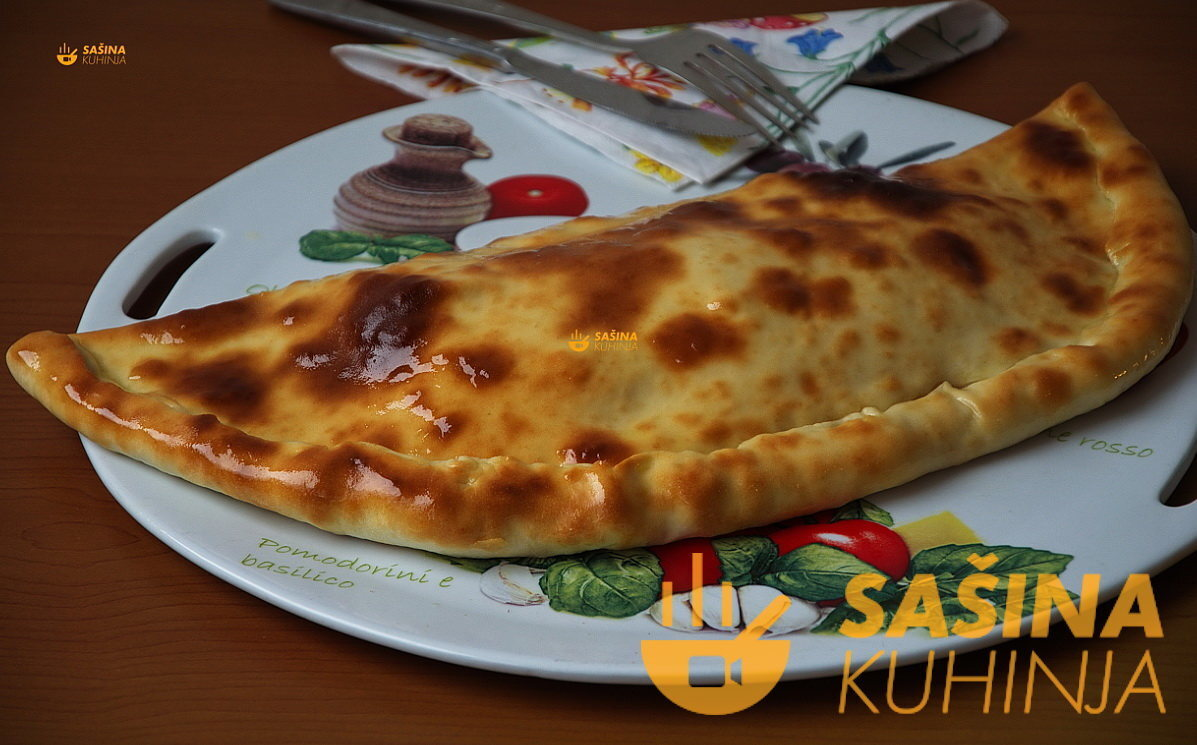 VIDEO – Topli sandwich Calzone za 25 min recept