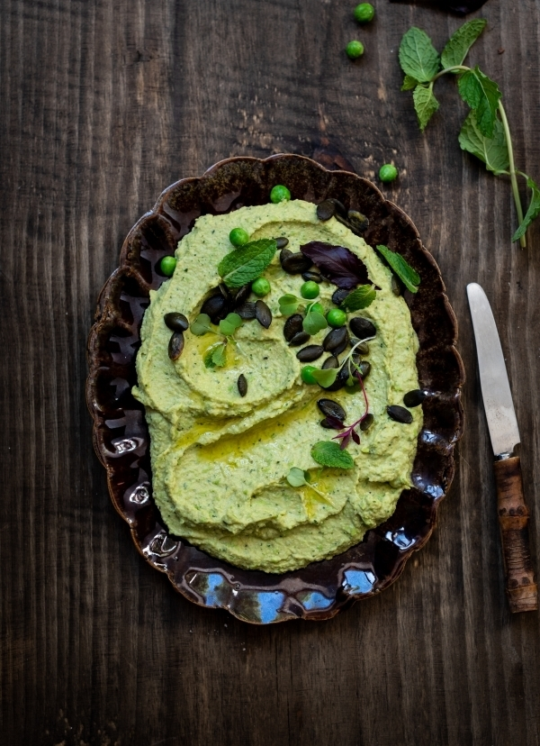 dianne wrote a new post, Minted pea hummus from the Whole cookbook, on the site bibbyskitchenat36.com