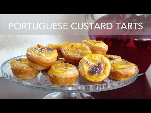 How to make Portuguese custard tarts - Pastéis de Nata