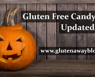 Gluten Free Candy List (Updated October 2017)
