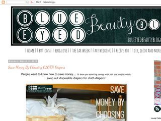 Blue Eyed Beauty Blog
