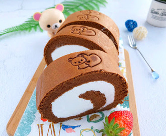Chocolate Swiss Roll 巧克力蛋糕卷