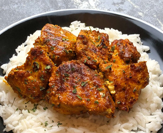 Nate's Tandoori Marinated Chicken Recipe