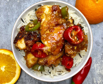 Nate's Chinese Style Orange Chicken Recipe