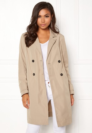 Boomerang Alba Coat Feather Beige L