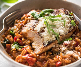 One Pot Italian Chicken & Orzo / Risoni Pasta