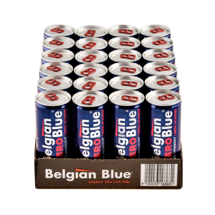 24 x Belgian Blue, 250 ml, 250 ml