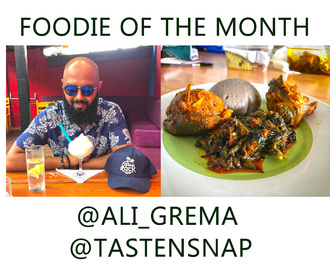 Foodie of the Month: Ali Grema
