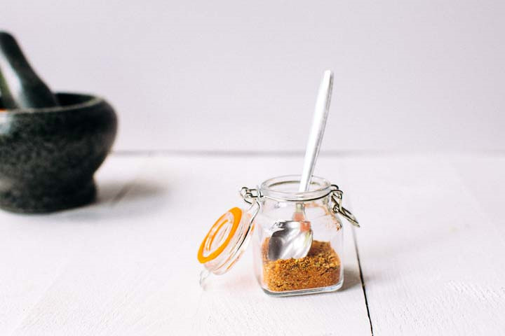 Easy chili powder