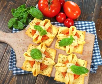 Caprese in sfoglia: l'idea fresca e golosa per l'estate