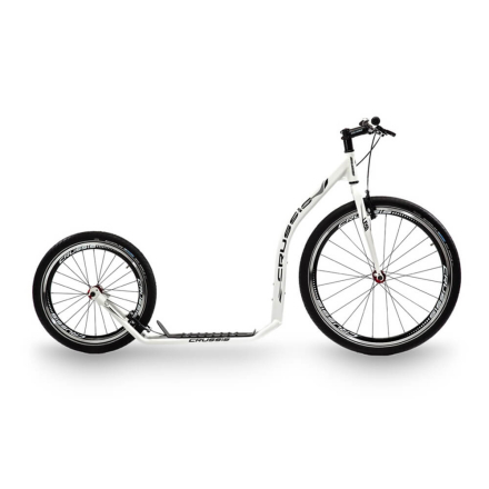 Crussis Sparkcykel Urban 4.1, white/black, Crussis Sparkcykel