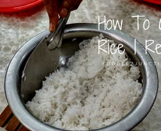 How To Boil Rice Perfectly Recipe