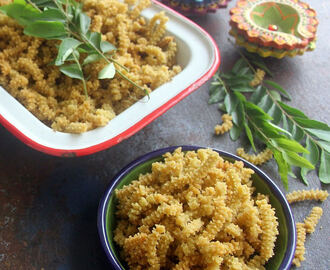 Curry Leaves Butter Murukku - Curry Leaves butter Chakli -  Diwali recipes