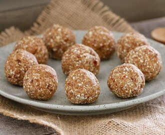 Healthy Salted Caramel Balls | 4 Ingredient