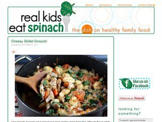 Real Kids Eat Spinach