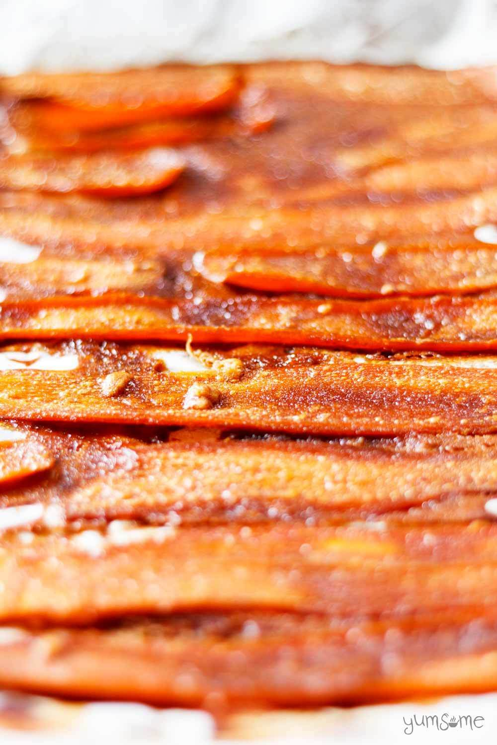 How To Make Yummy Carrot 'Bacon'