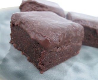 Brownie med fudge