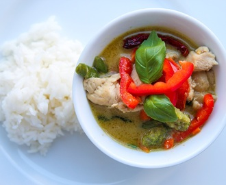 En äkta Thai green curry
