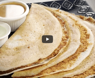 Mysore Masala Dosa Recipe Video
