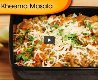 Veg Kheema Masala Recipe Video