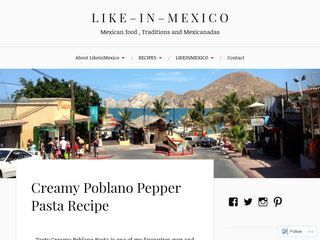 LIKEINMEXICO | Traditional Mexican Food + Pinch of Mexican LifeStyle.