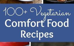 100plus vegetarian comfort food