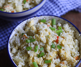 Cauliflower Fried Rice – Low Carb