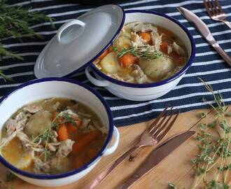My Homely Gluten Free Chicken Stew and Dumplings Recipe (dairy free and low FODMAP)